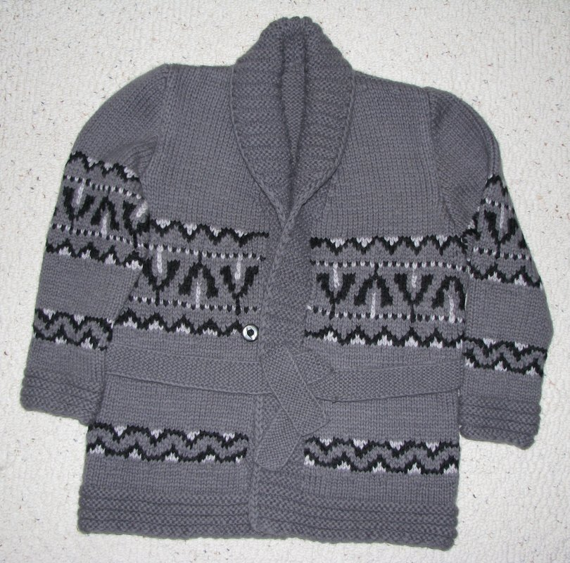Starsky/Hutch cardigan in gray
